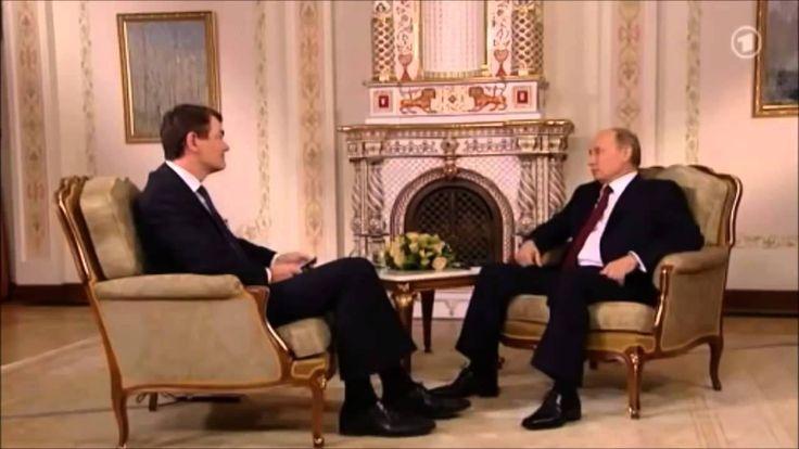 Ken Jebsen & Wladimir Putin sind sich einig über Atlantik Brücke und Fre...
