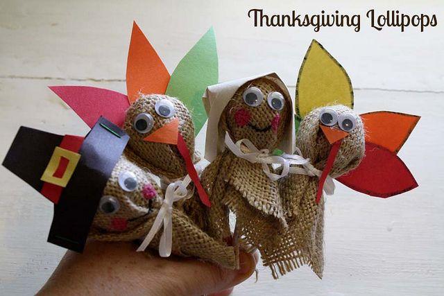 Thanksgiving Lollipops Tutorials