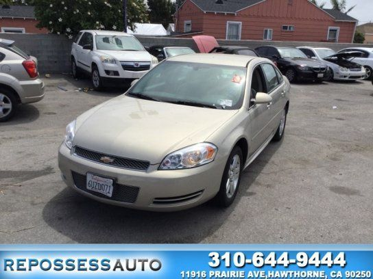 Sedan, 2012 Chevrolet Impala LT with 4 Door in Hawthorne, CA (90250) #chevroletimpala2012
