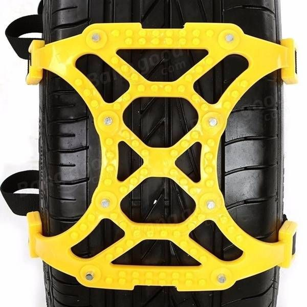 165-265mm Tire Anti-skid Belt Snow Chain Dual Hook for Car SUV Truck