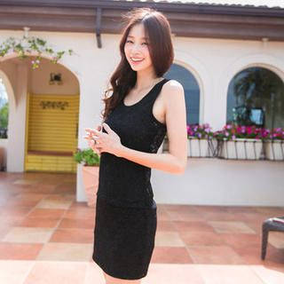 Buy 'Tokyo Fashion – Lace Tank Dress' at YesStyle.com plus more Taiwan items and get Free International Shipping on qualifying orders.