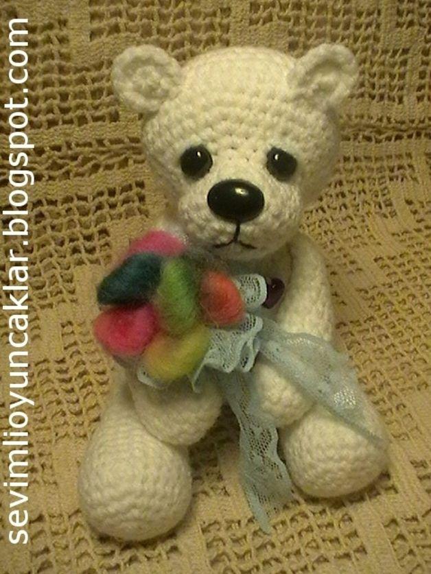 61 besten Polar Bear Crochet Patterns Bilder auf Pinterest ...