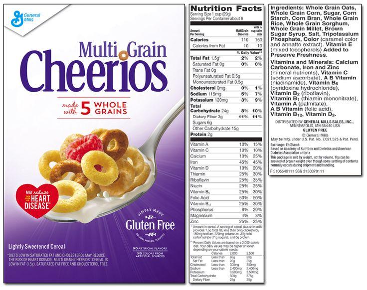 Multi Grain Cheerios®