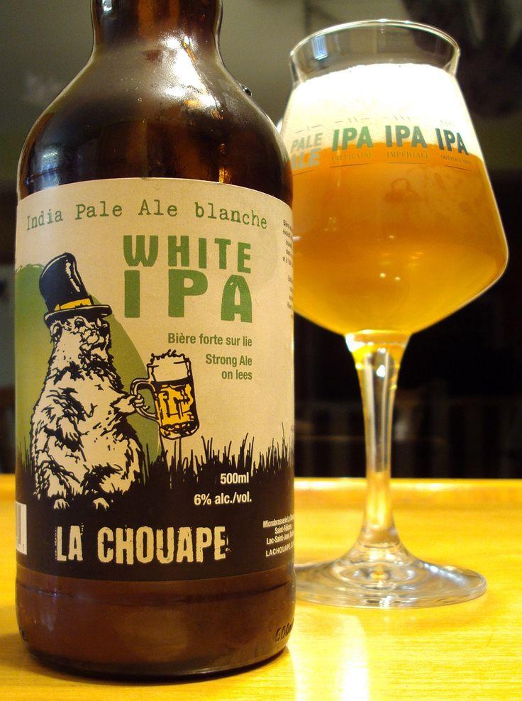 White IPA - Microbrasserie La Chouape via craftbeerquebec.ca #ipa #whiteipa #ipablanche #dégustation #bière #lachouape #houblon #québec #buvezfrais #bièreduquébec #brasserie #boirelocal #craftbeerqc #bièreqc #drinkcraft #craftbeer #bière #belgianstylebeer #beer #hoppy #microbrasserie #beerreview