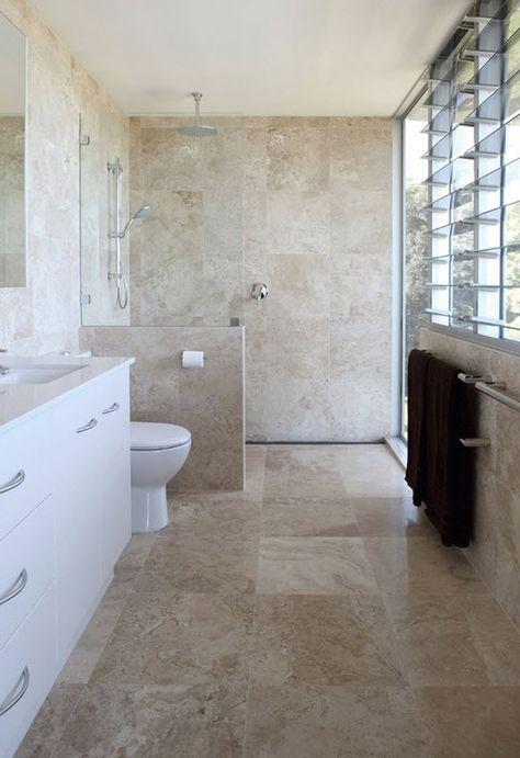 Best 20 brown bathrooms designs ideas on pinterest for Brown and beige bathroom ideas