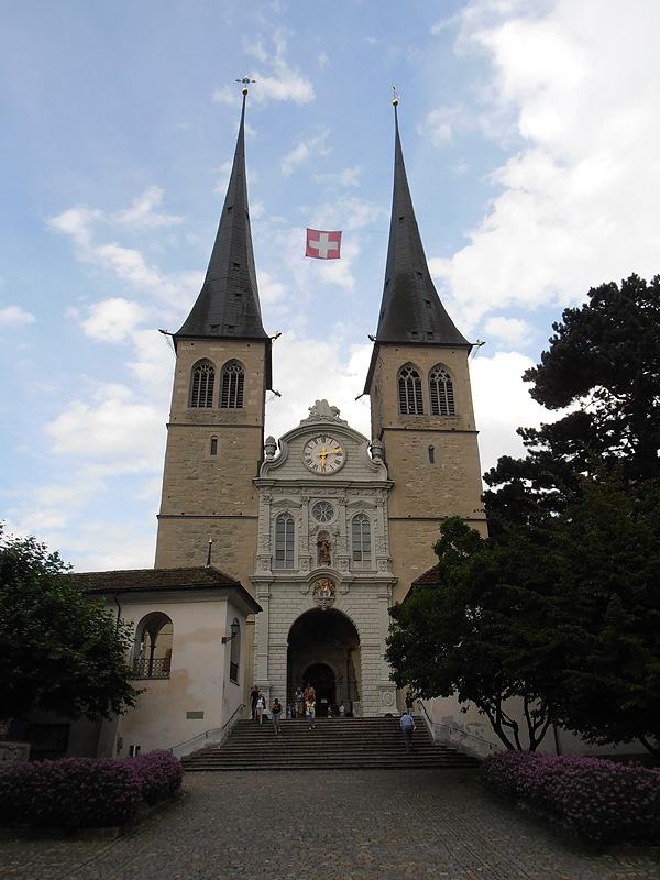 Church of St. Leodegar - Lucerne - Switzerland