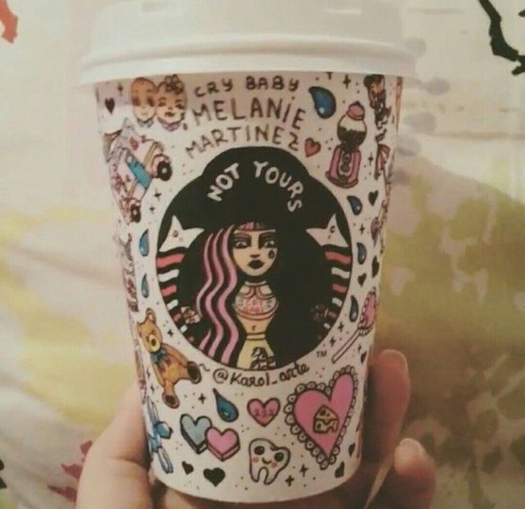 If Starbucks had cups for singers O.O I'd legit buy every single cup from some of my FAVORITE singers <3