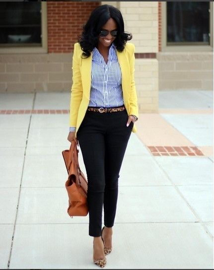 Awesome Black Women With Casual Work Outfits This Winter 26