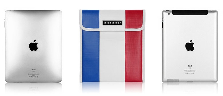 Brand : nother  Product : for Macbook Air 11 inches, Macbook Pro 13 inches, iPad, wireless keyboard  Country : Paris-France, Kingston-Jamaica, Berlin-Germany  Water resistant    These sleeves are made as Flag Project Edition with limited amounts.  They're designed in specialized colors for each countries.  They give functionality and good sytle for your apple products.  You can meet these amazing items at UNIHOOD.  www.unihood.net  www.unihoodstore.com