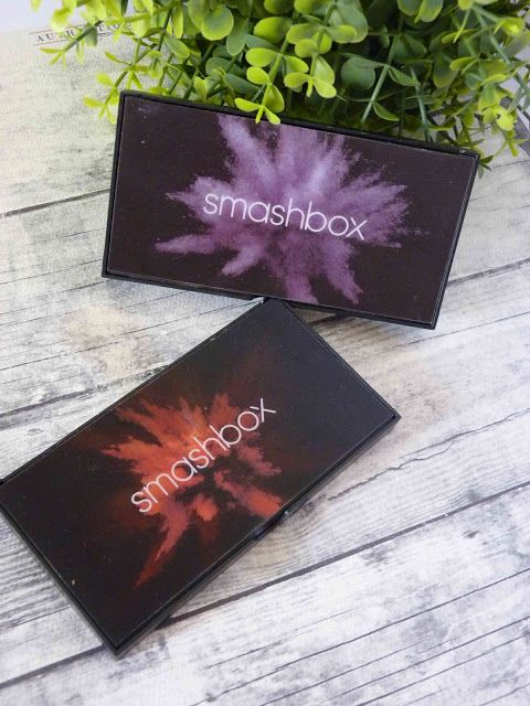 Melanie's Nook: Review : Smashbox Cover Shot Palettes in Ablaze an...