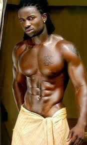 Sexy black men with dreads