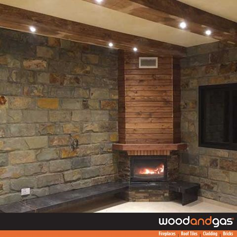 Different design themes require different finishing! Check out the wide variety of natural stones wall cladding from #WoodAndGas