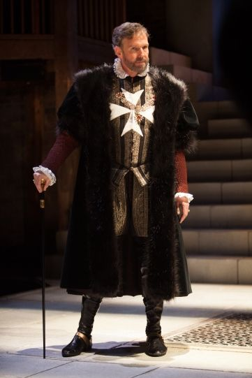 2015 - Steven Pacey as Ferneze in 'The Jew of Malta'. Photo by Ellie Kurttz.