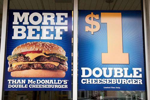 """Más ternera que en la doble Cheesburger de Mc Donald's"""