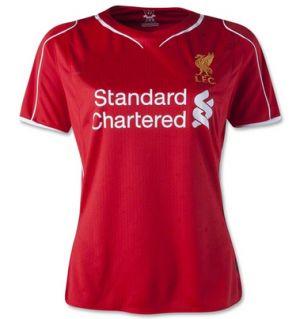 Liverpool FC 2014-15 season Women's Home Soccer Jersey [1405131358]