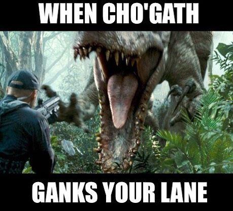 Cho'gath ganks