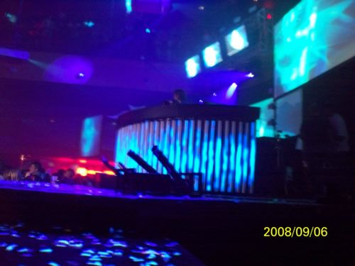 DJ playing club Las Vegas