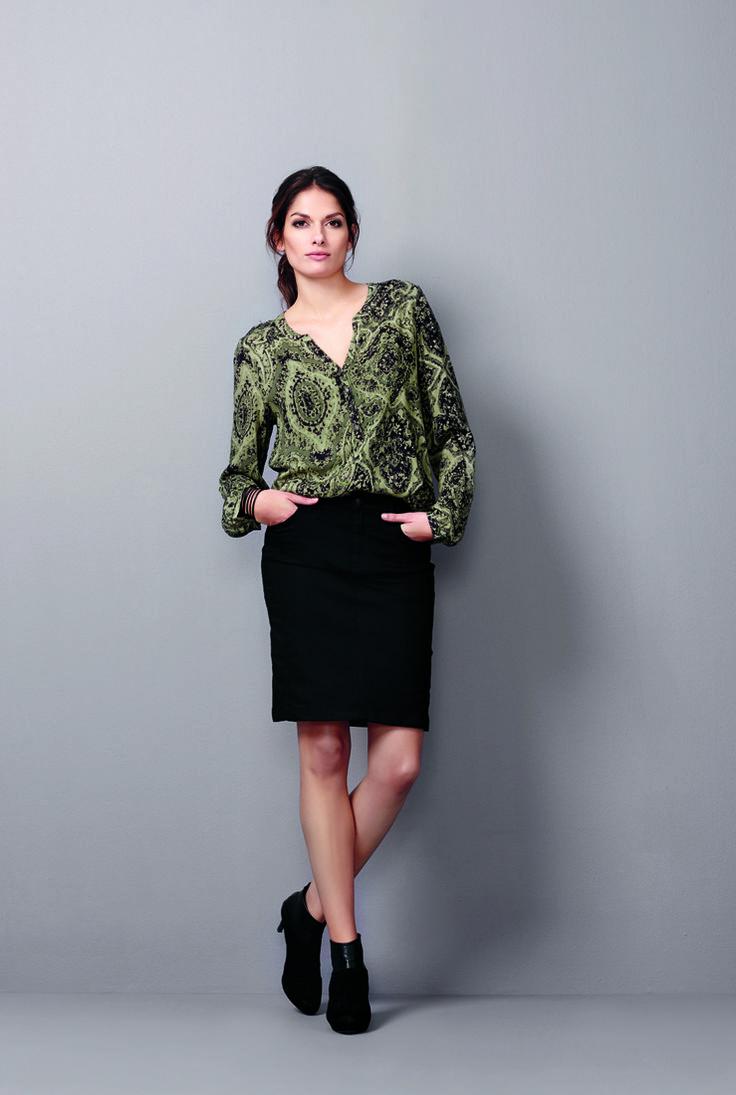 soyaconcept - shirt - blouse - skirt - print