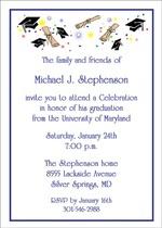 colorful graduation invitation wording for your school graduate announcements - Graduation Invite Wording