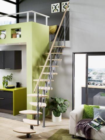 17 meilleures id es propos de escalier gain de place sur - Escalier gain de place pas cher ...