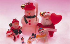 Nice Photography About Christmas Miniature