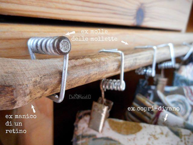 mobile cammello 4 - daniela spiriti: come ho realizzato la tendina per un mobiletto con materiali di recupero