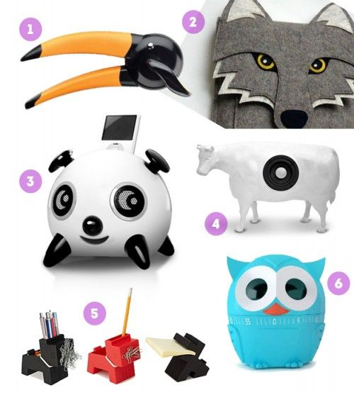 and us 'big kids'... Fun Animal-Shaped Gadgets   Design*Sponge