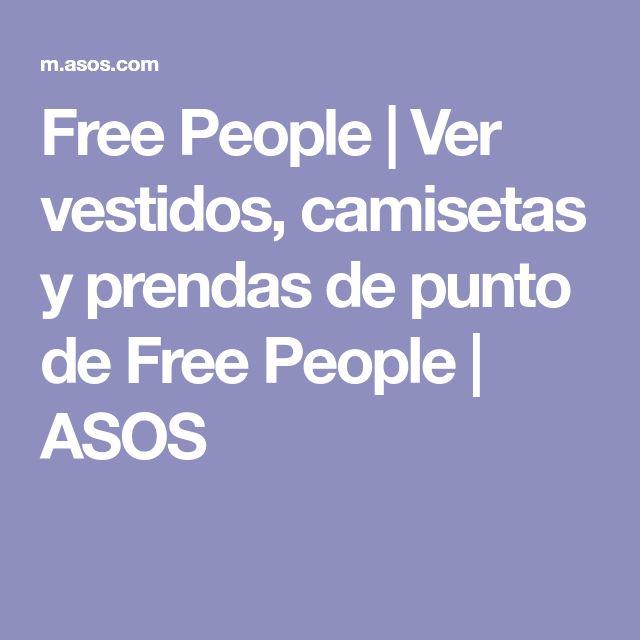 Free People | Ver vestidos, camisetas y prendas de punto de Free People | ASOS