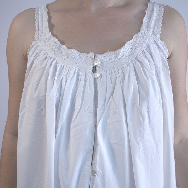 cotton nightgowns victorian | Nightie Night | Jodie Traditional Victorian Nightdress | UK Supplier ...