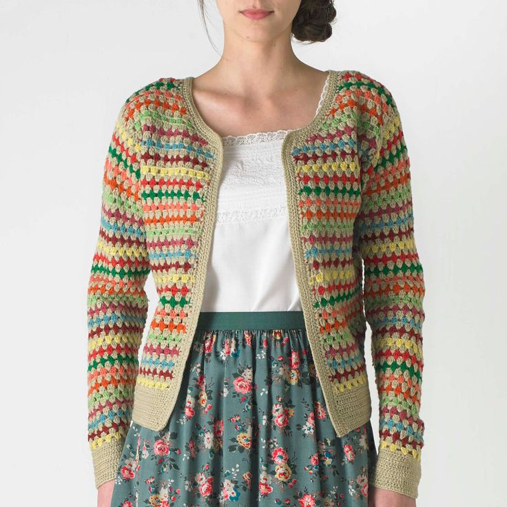 Love this Crochet Cardigan and shirt!!   CathKidston