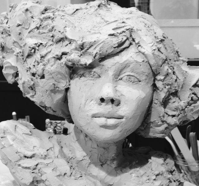 epingle sur brig sculpture ceramique