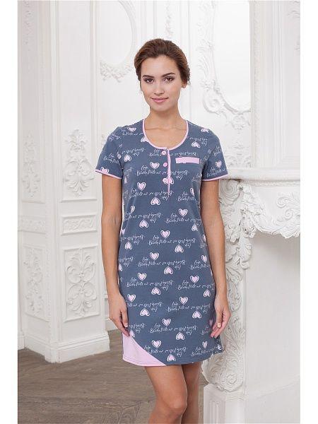 Платье домашнее CLEO 3448867 в интернет-магазине Wildberries.ru