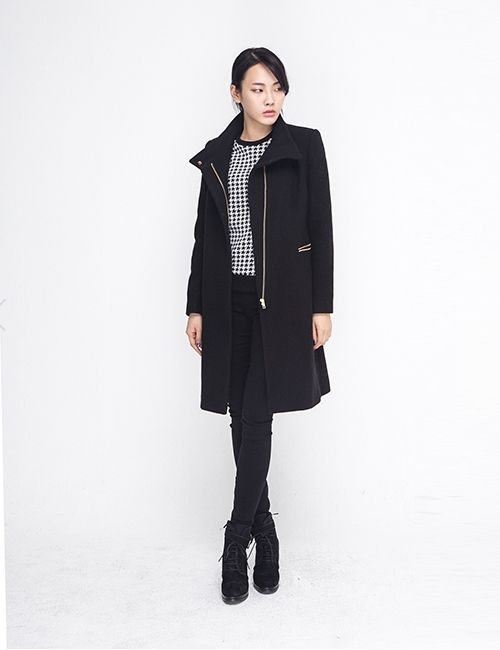 WOOL FLANNEL HIGH NECK COAT http://arcloset.com/product_view.php?gs_idx=OU140007CT
