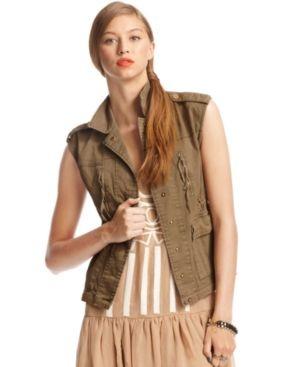 Bar Iii Sleeveless Utility Pocket Vest From Macy S