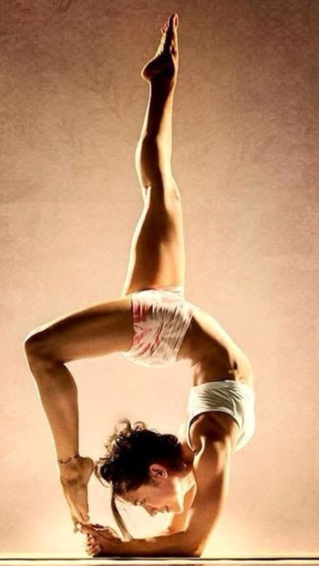 I dunno if this one might be a little too challenging for me!  I'm gonna get crow and bow pose down first... baby steps!