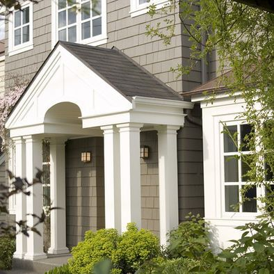 17 Best Images About Home Exterior On Pinterest Paint Colors Columns And Traditional Exterior