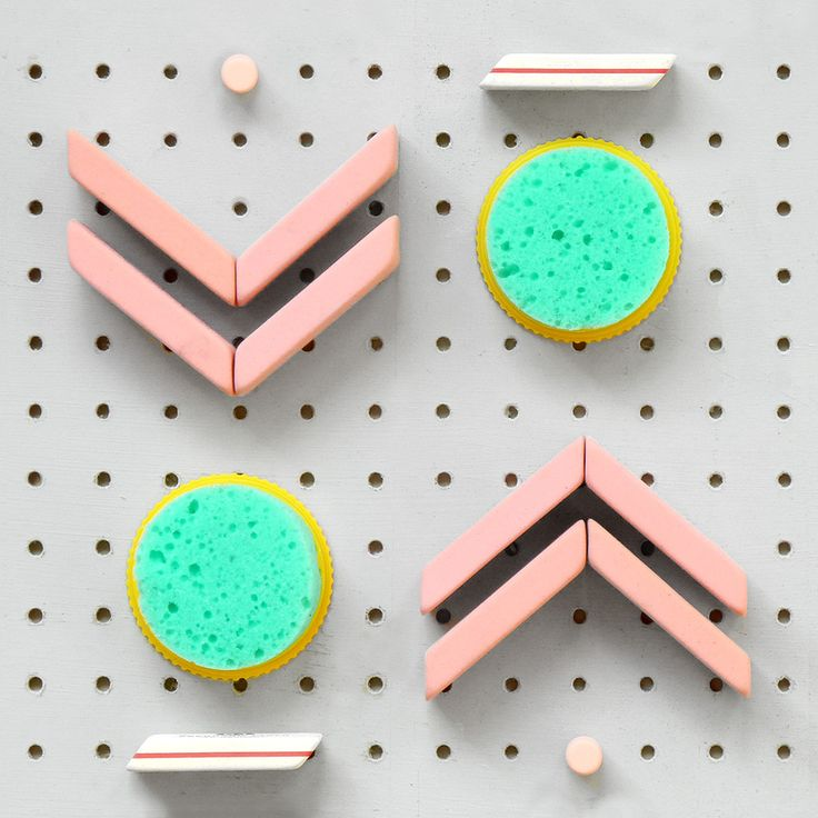 Extracurricular project Present  Correct // 4 Pink Pearl erasers, 4 pencil erasers, 2 finger sponges.