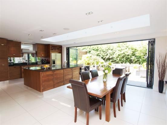 Cardinal Grove Kitchen.  Like the size and the open doors out to garden