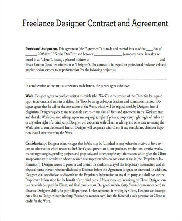 A freelance contract как удалить работа в сети