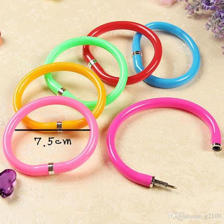 Novelty Ballpoint Pen Ballpoint Pens Mini Pens Bracelet Pen Gel Pens Writing Supplies Papelaria Gold Fountain Pen Promotional Pens Cheap From G2100, $13.06| Dhgate.Com