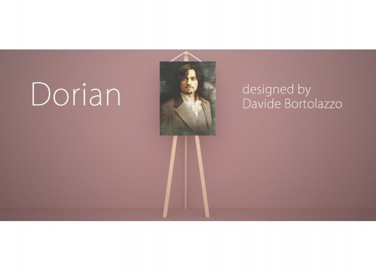 ... pittura dedicata al celebre personaggio ideato da Oscar Wilde, Dorian