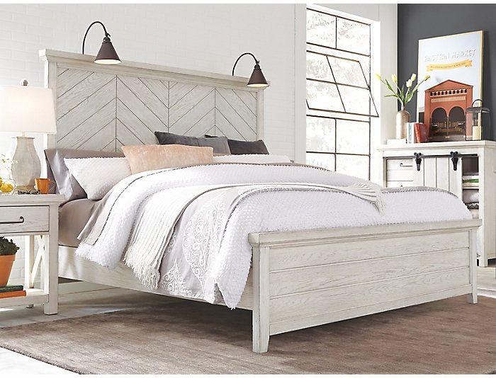 Pin By Carrie Hack On Bedroom White Queen Bed Bed Frame And