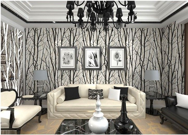 White and black 3d wallpaper roll modern PVC TV background striped wall paper for walls $47.89