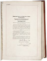 Twenty-first Amendment to the United States Constitution - Wikipedia, the free encyclopedia