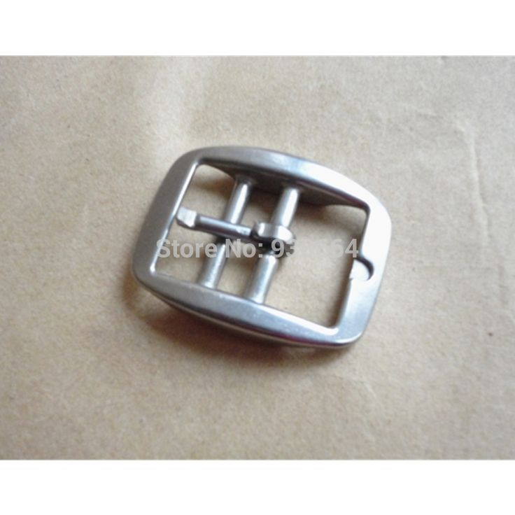 50 PCS/Lot Wholesale Stainless Steel Horse Halter  Buckle Saddlery Fitting  1 Inch  Leather Buckle With 2 BarsP039