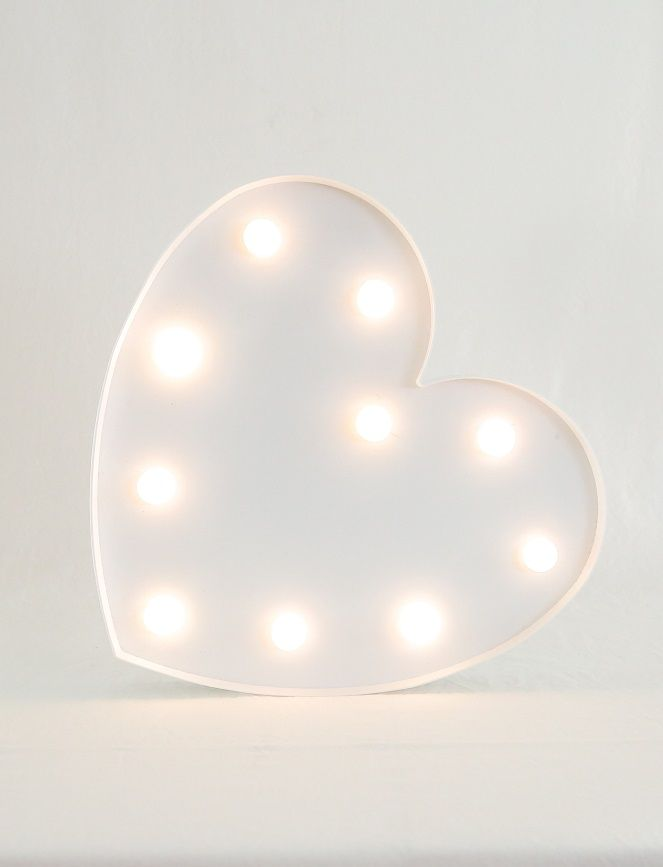 Light up white heart prop. $15 hire perfect to place on your guestbook table or elsewhere as a feature!   email theweddingandeventcreators@gmail.com for bookings photo; shenay spinelli