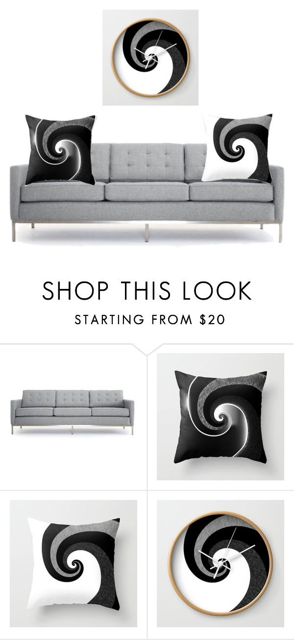"""""""Living room"""" by cocodes on Polyvore featuring interior, interiors, interior design, home, home decor, interior decorating, Joybird, living room, blackandwhite and homedecor"""