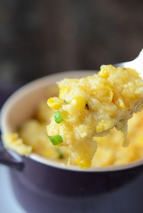 Corn Pudding  (recipe via thenovicechefblog.com)