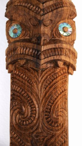 Pita Broad Kura Gallery Maori Art Design Aotearoa New Zealand Carving Taiaha Black Maire 6