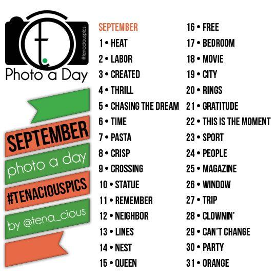 tena.cious Instagram Photo A Day Challenge | September 2013 » tena.cious